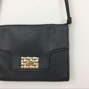 Rampage | Black & Gold Crossbody Bag